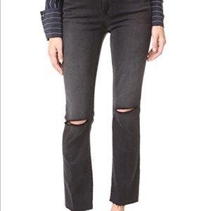 NWT Frame Denim Le High Straight Raw Edge Jeans